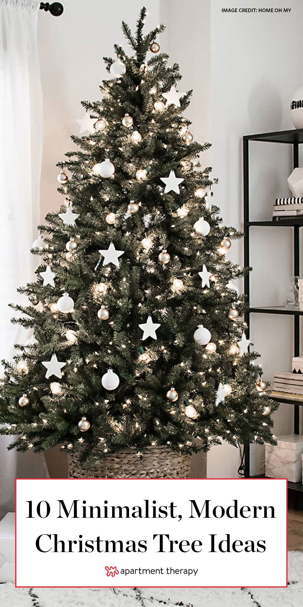 Incredibly Chic Modern Minimalist Christmas Trees Minimalist Christmas Tree Minimalist Christmas Decor Contemporary Christmas Trees