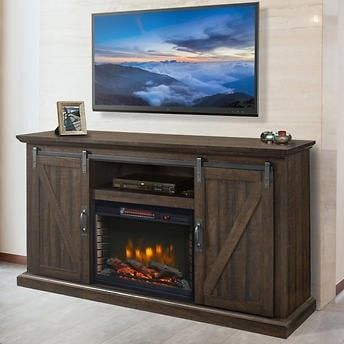 Costco $479 in 2020   Fireplace entertainment, Electric fireplace, Electric fireplace ...