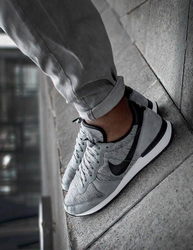 new products a9512 f776d Nike Internationalist Tech Fleece: Grey | Nike | Sneakers, Sneaker ...