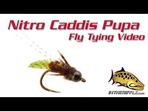 Nitro Caddis Pupa Fly Tying Video Instructions Youtube Fly Tying