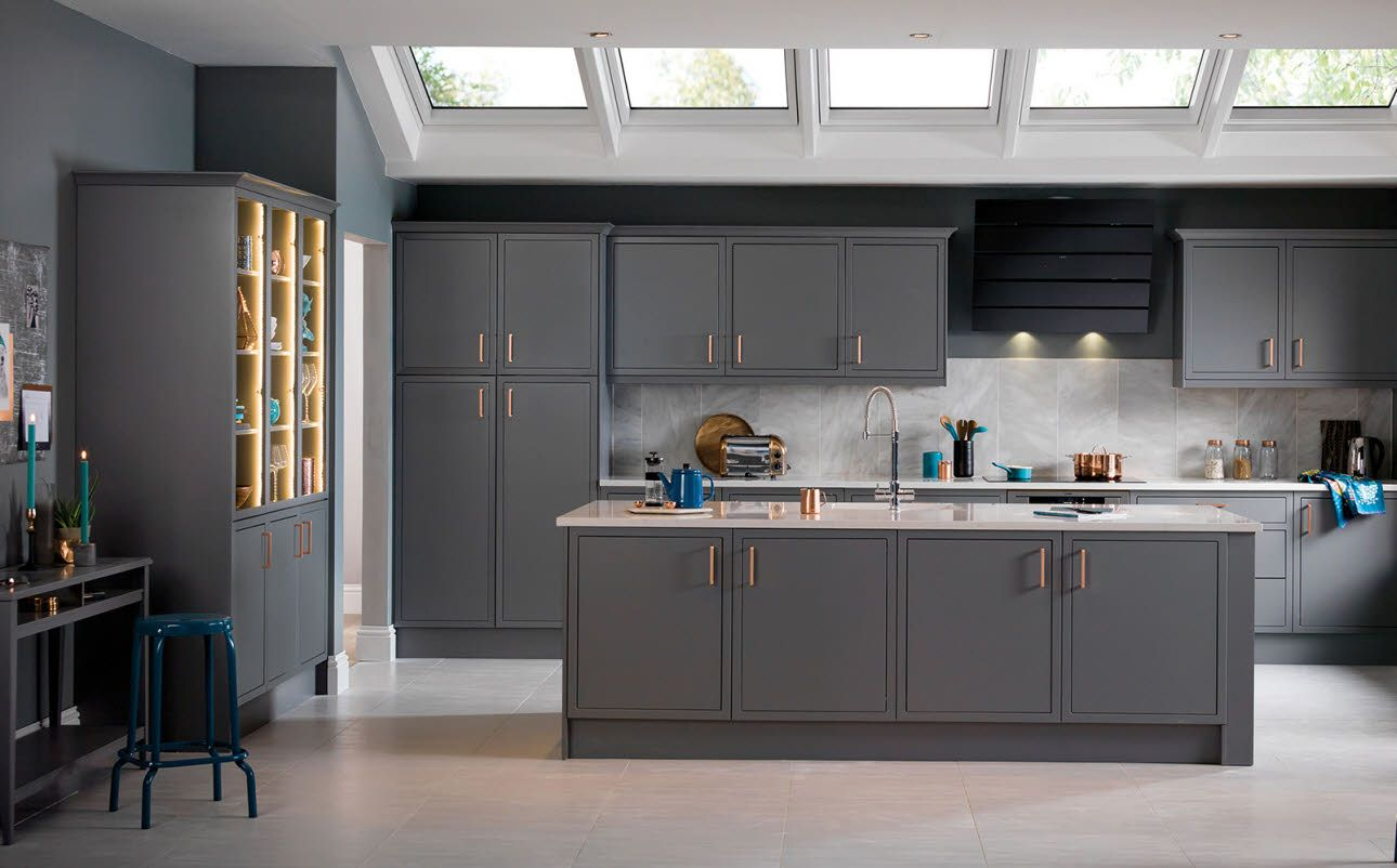 newbury grey kitchen pinterest gray kitchens and house quality kitchen units to suit any budget or space