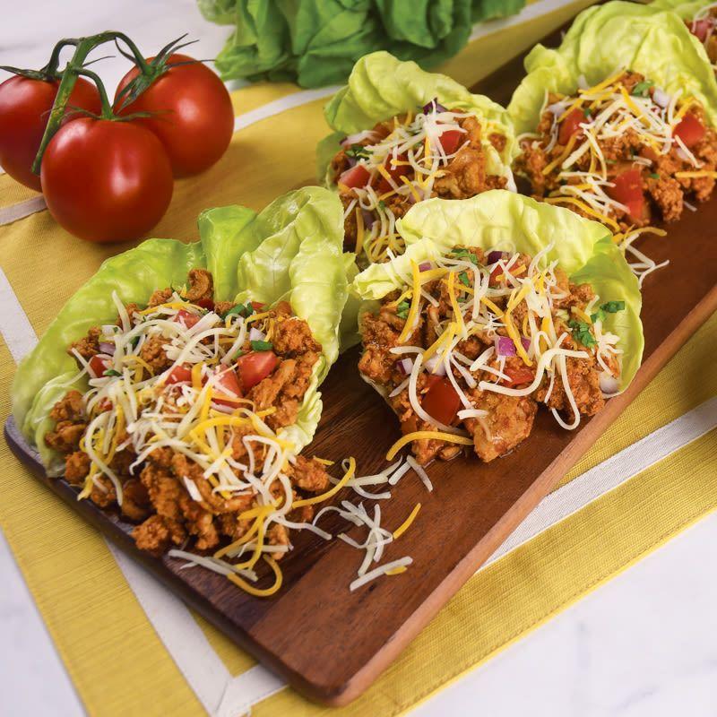 Ground turkey taco lettuce wraps | Recipes | WW USA