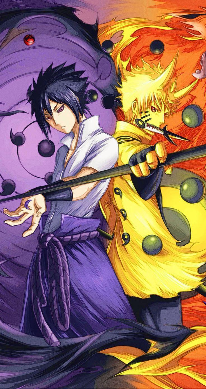 Naruko Sasuke Sharinnegan Kakkoi Desu Ne There Is More Naruto Tribute Iphone W 1 Naruto Minato Gambar Serigala Gambar Kehidupan