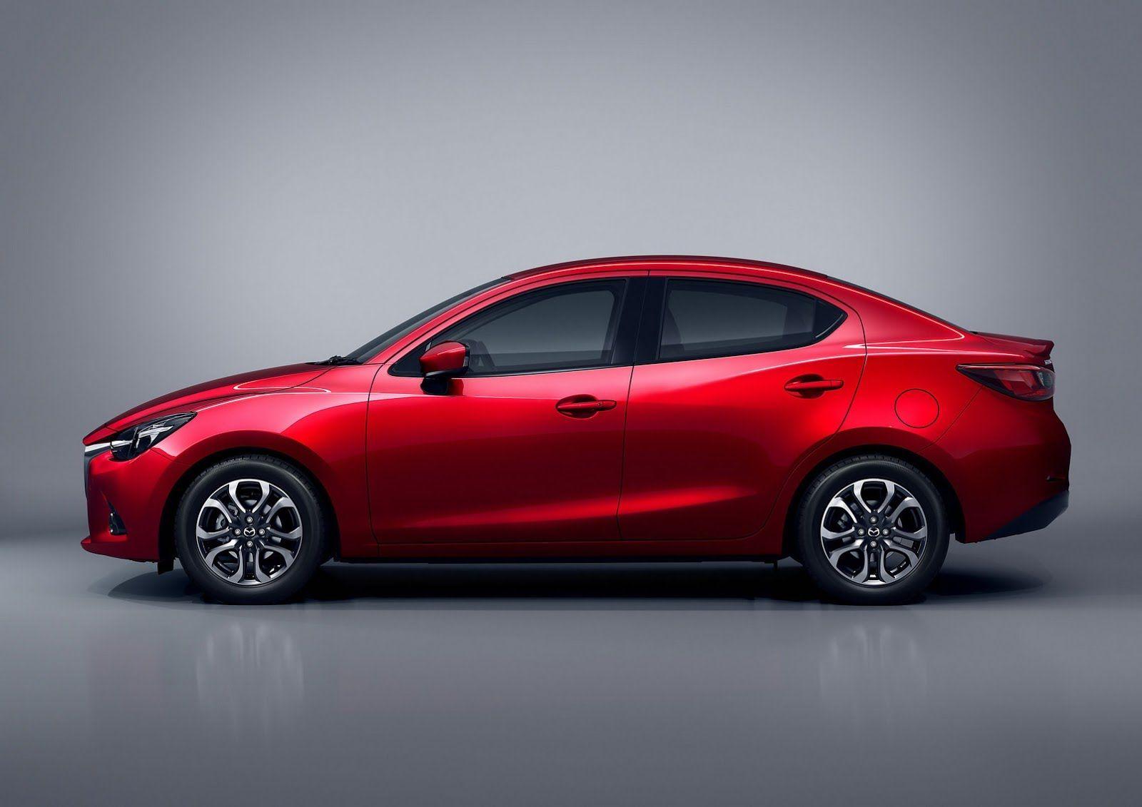 2016 Mazda2 Sedan Revealed Set To Debut At Thailand International Motor Expo 2014 On Nov 28th Engine Is A Skyactiv D 1 5 L Mazda Mazda 2 Mazda 3 Sedan