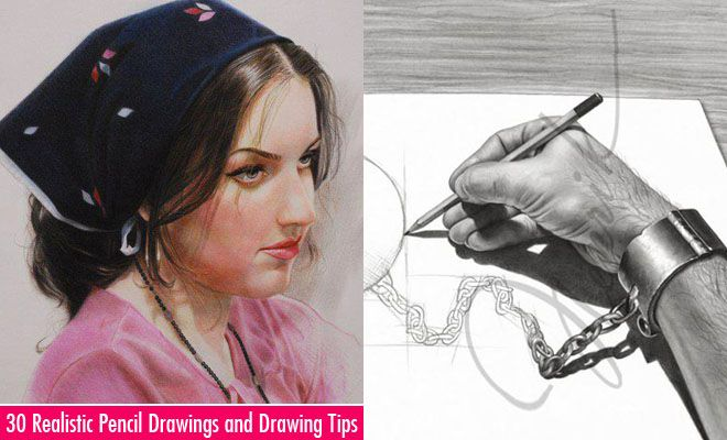 50 Realistic Pencil Drawings And Drawing Ideas For Beginners Art