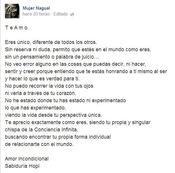 Tomado De Mujer Nagual En Facebook Poesía El Alma
