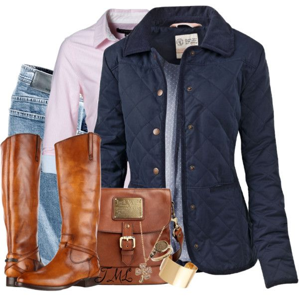 Quilted Jacket, created by tmlstyle on Polyvore