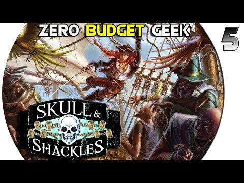 Tabletop Tuesday Black Flag Skull Shackles 5 Pathfinder Adventure Card Game Youtube