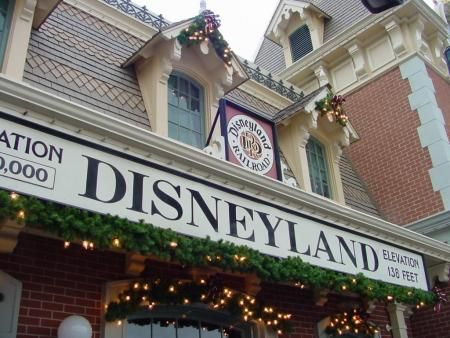 Disneyland, especially at Christmas, can't be beat for nostalgia and happiness!