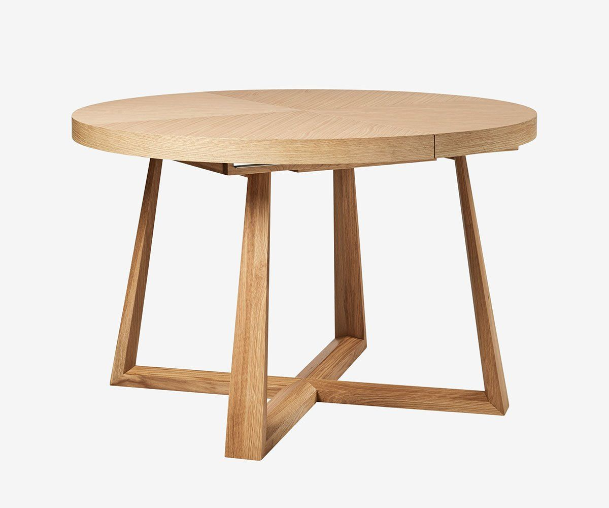 Round Dining Table With Extensions Oliver Round Extension Dining Table Furniture Tables Dining