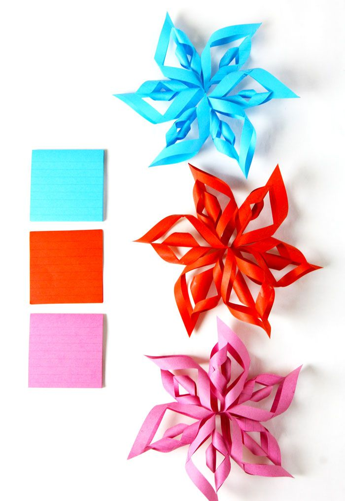 d paper stars from post it notes d paper paper stars and d  3d paper stars from post it notes