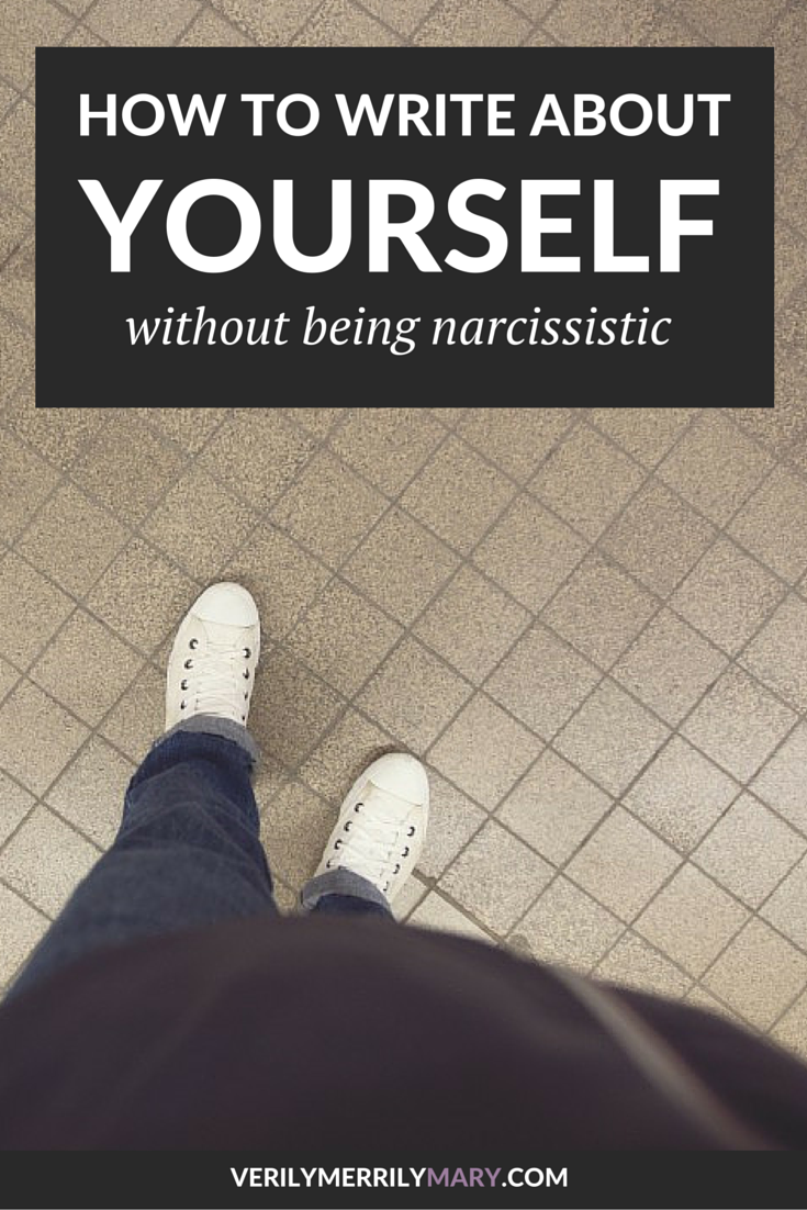 0010 How to Write About Yourself Without Being Narcissistic
