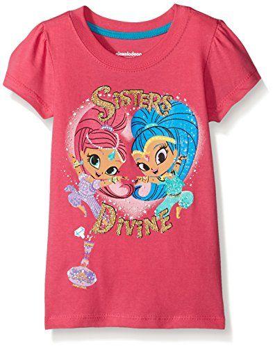 Licensed Product T Shirt Shimmer and Shine Girls Short Sleeve Tshirt