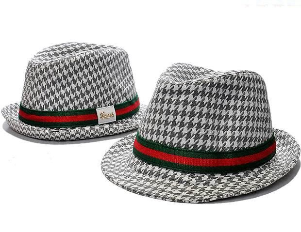 Gucci Fedora with Gucci Trademark Detail  785ae1ee35a