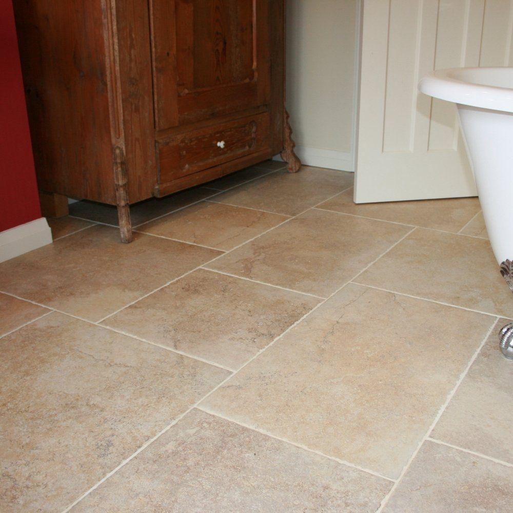 Glazed Porcelain Tile Kitchen Floor