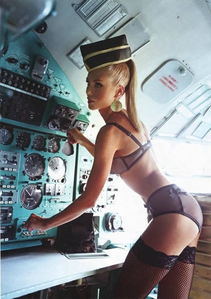air hostess sexy nude