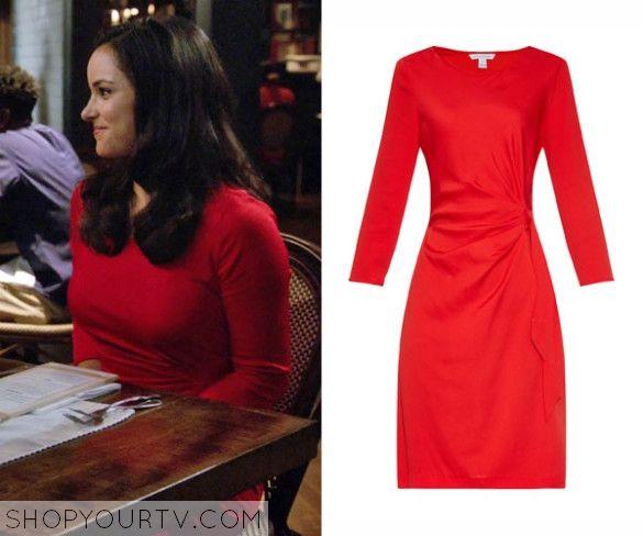 Brooklyn Nine Nine Season 3 Episode 1 Amy S Red Dress Dresses