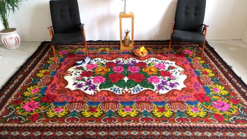 3.26x2.4m/10.69x7.87ft,Tapis kilim laine,turkish kilim rugs,vintage ...