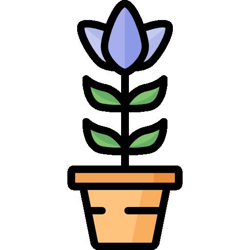 Flower Free Vector Icons Designed By Freepik Vector Icon Design Plant Icon Flower Icons