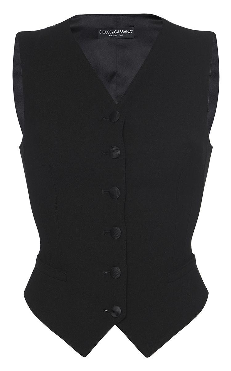 DOLCE & GABBANA Tailored Suit Vest. #dolcegabbana #cloth #vest