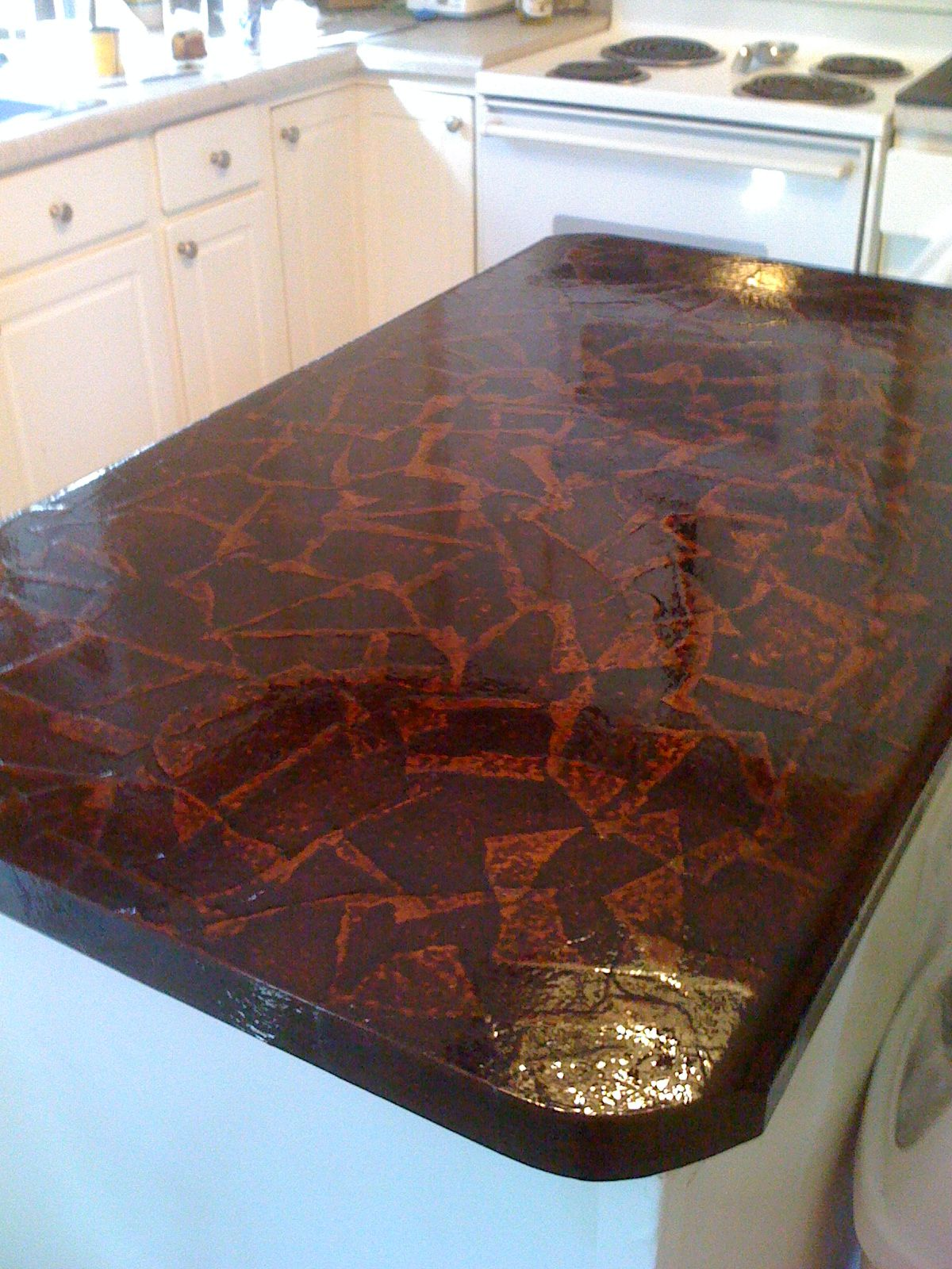 Pin By Anna Minnich On Craft Ideas Diy Diy Countertops Brown