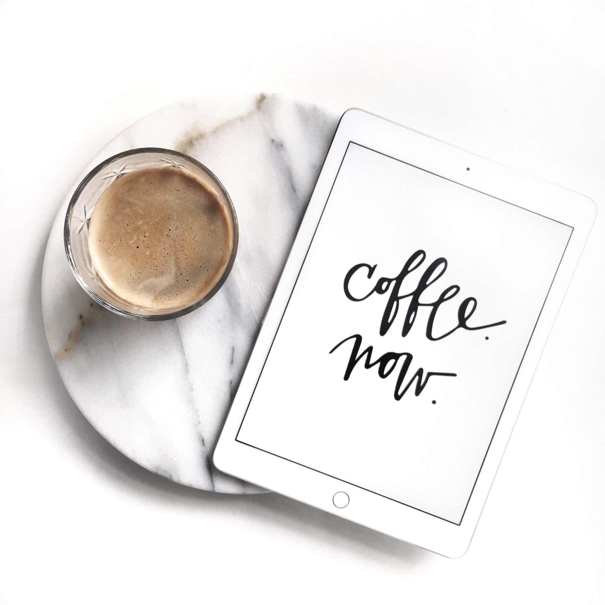 Coffee Ipad Mini Marble And My Thoughts Creative