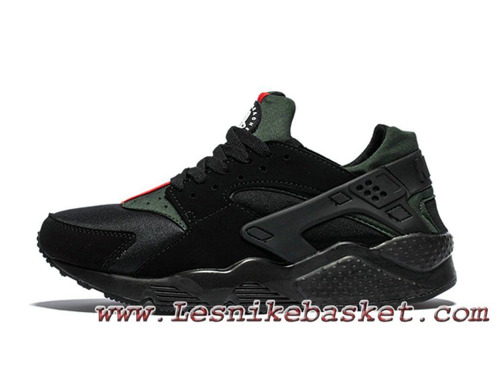 cheap for discount b6efb 3952b Nike Air Huarache (Air Urh) Gucci Noir Chausures Nike Pirx Pour Homme Noir