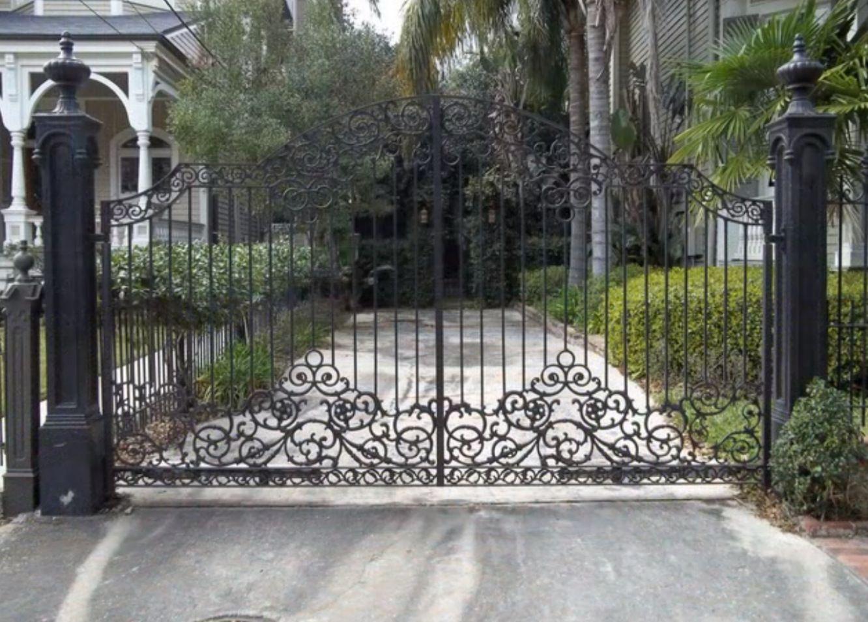 Top 18 Insane Wrought Iron Garden Gates Designs Build Your Own