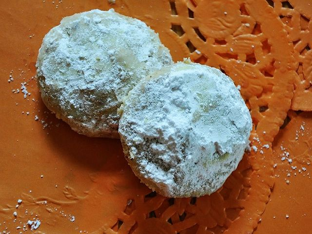 Mexican Wedding Cookies Gluten Free Vegan