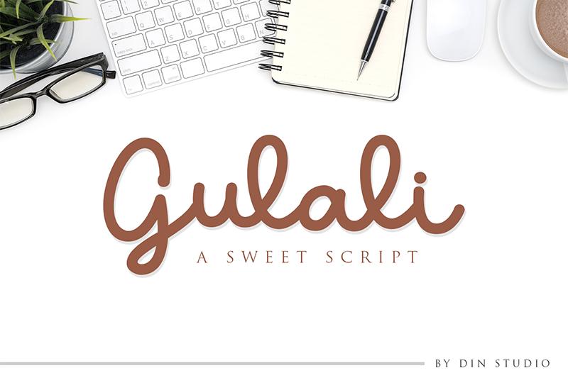 Download Gulali Font | dafont.com | Lettering design, Free script ...