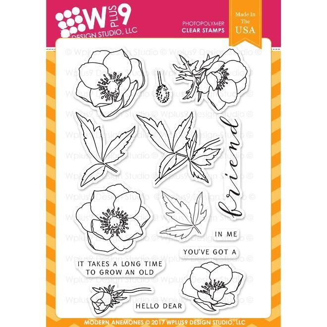 33-23 HOPPY birthday wood mounted rubber stamp