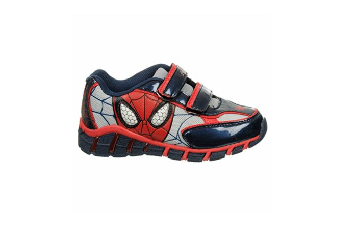 ROKIDS Kids Spider-Man Socks Shoes LED Flashing Sneakers Boys Girls