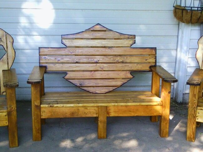 Prime Really Cool For An Outside Patio Harley Woodworking Uwap Interior Chair Design Uwaporg