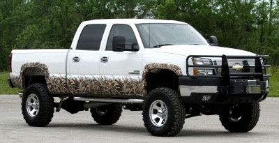 Camo Hunting Camo Decals For Trucks At CamoUcom Truck - Chevy decals for trucks