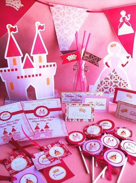 Decoracion fiesta princesas ideas cumple pinterest ideas - Decoracion fiesta princesas disney ...