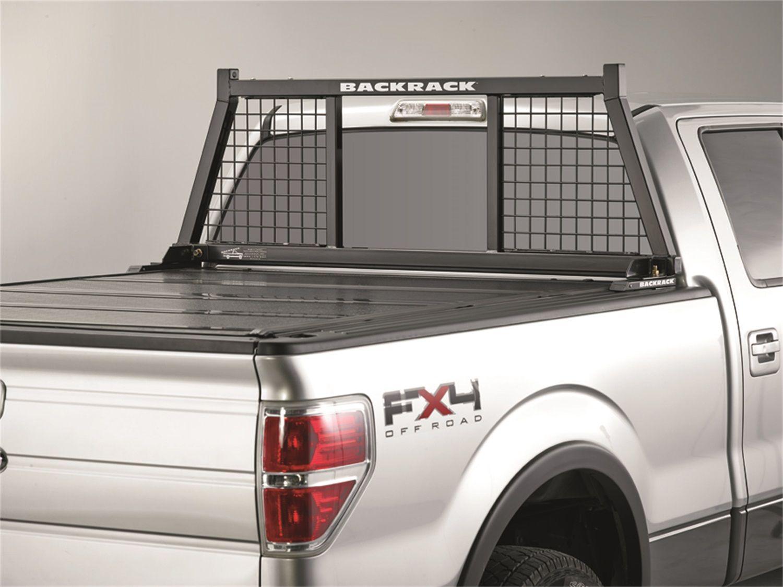 Backrack 147SM Half Safety Headache Rack Frame; Requires