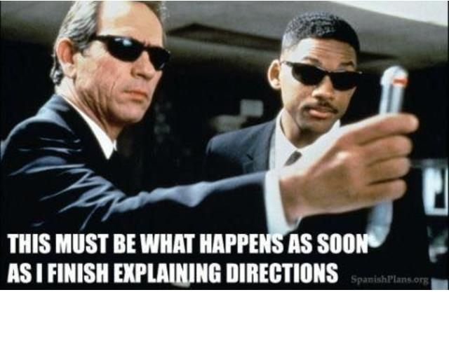 Educator Jokes Men in black