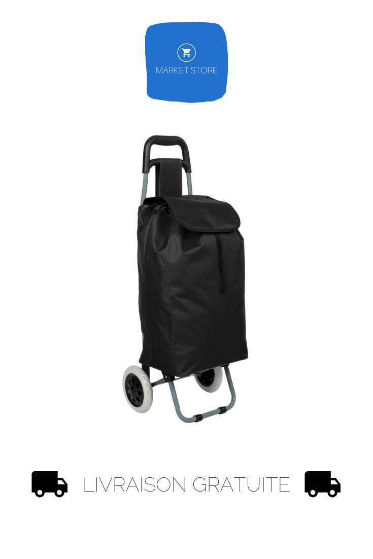Chariot Course Caddie Pliable 2 Roues Caddy Marche Cabas Shopping Roulette Neuf Cabas A Roulette Sac Roulette Chariot Courses
