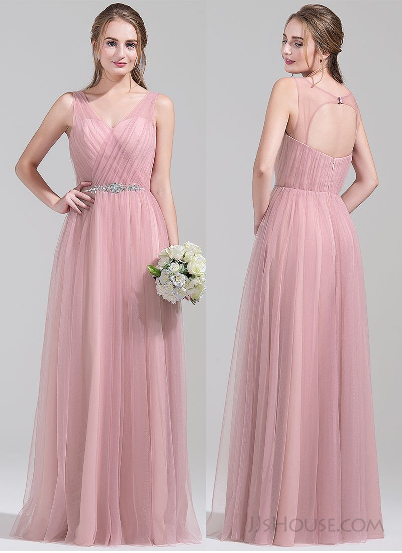 Elegant v-neck bridesmaid dress. #jjshouse | Fashion | Pinterest ...