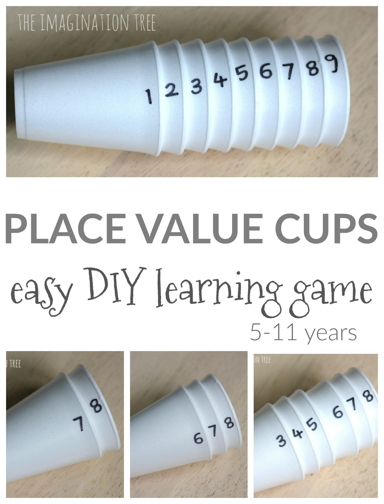 Diy Place Value Cups A Fun Way To Learn All About Place