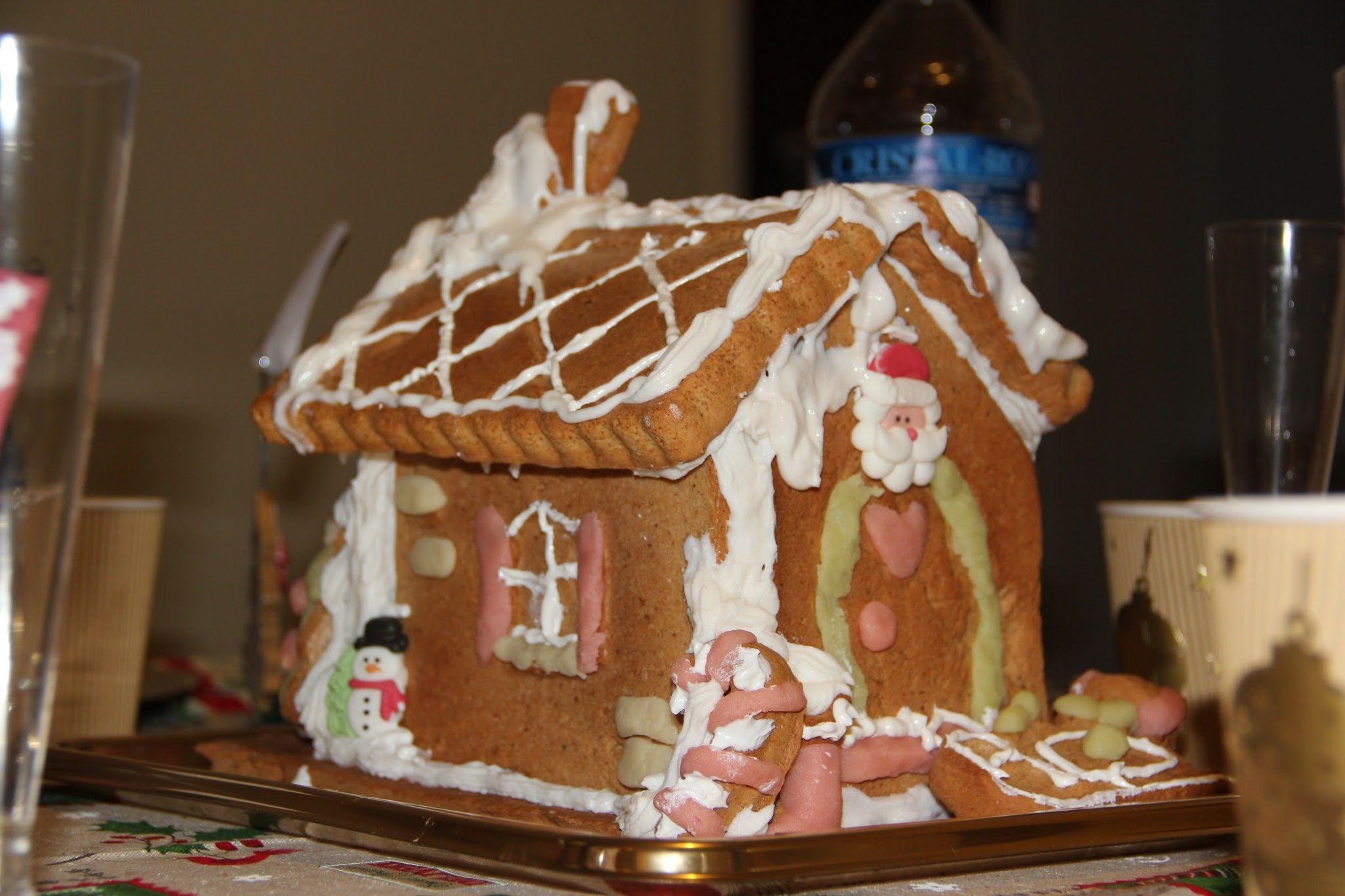 Maison en pain d'épice