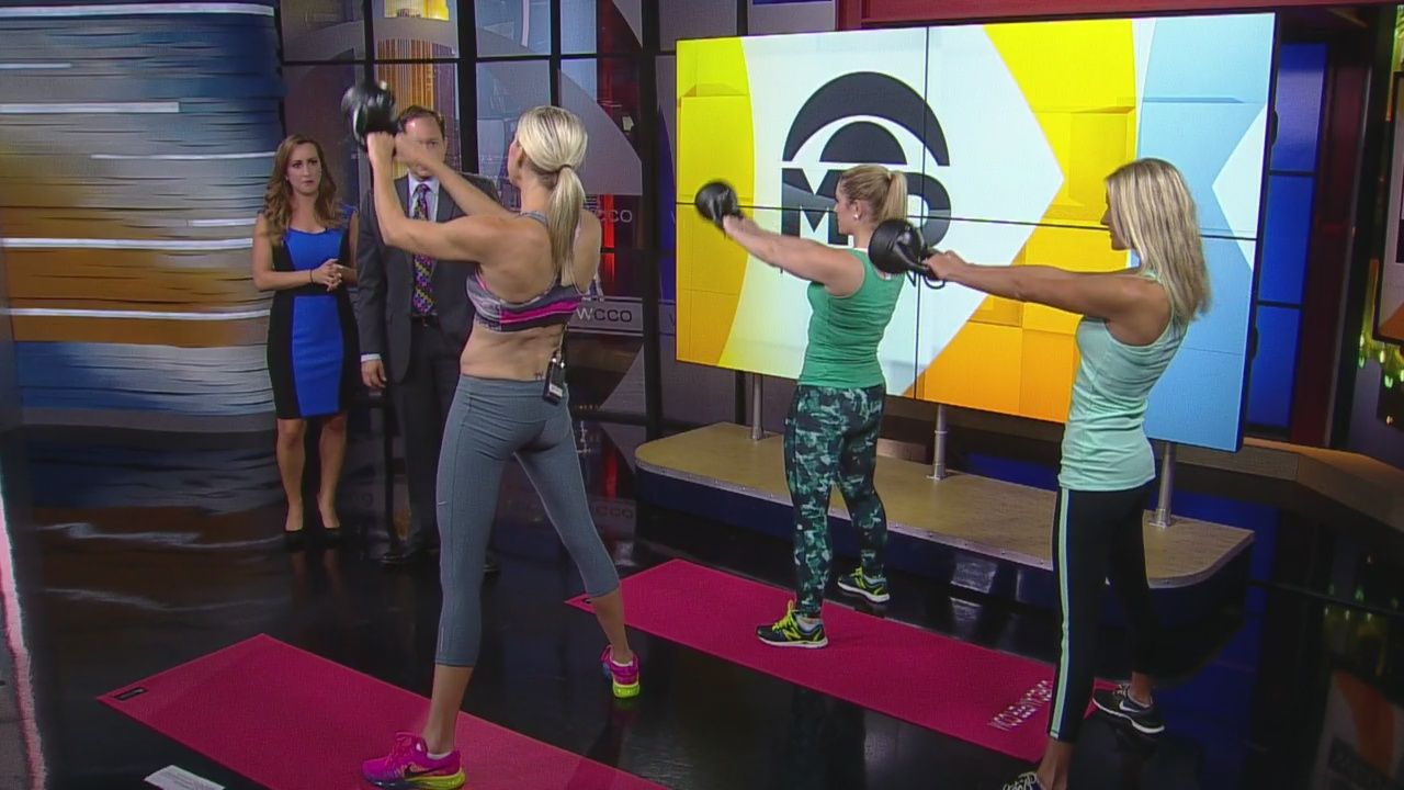Fitness expert ali holman offers up new exercises that