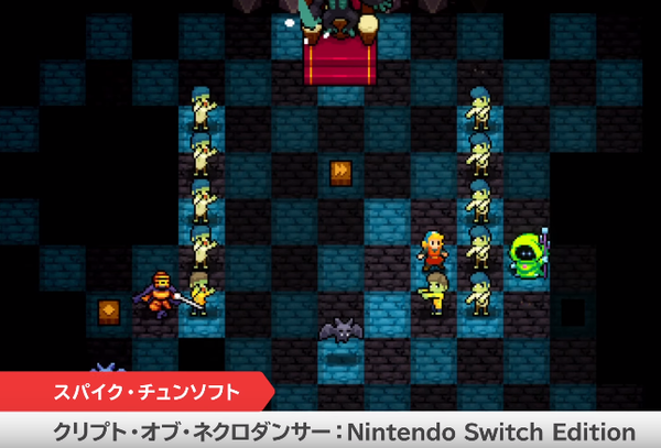Crypt of the Necrodancer Switch Edition on the way I was