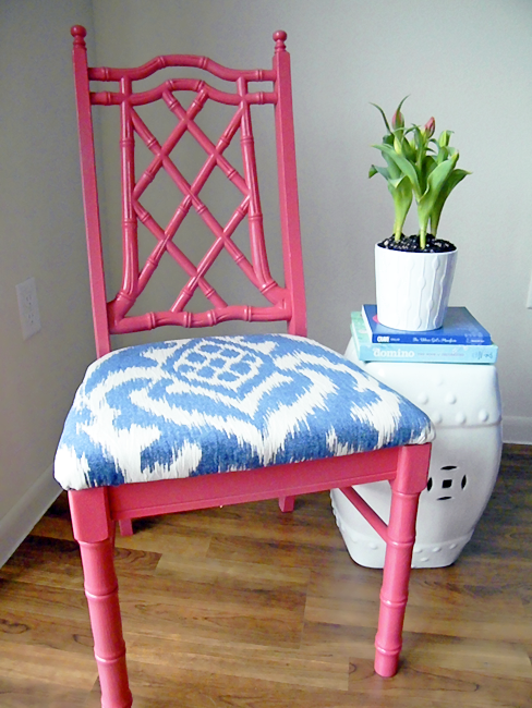 My pink chair!