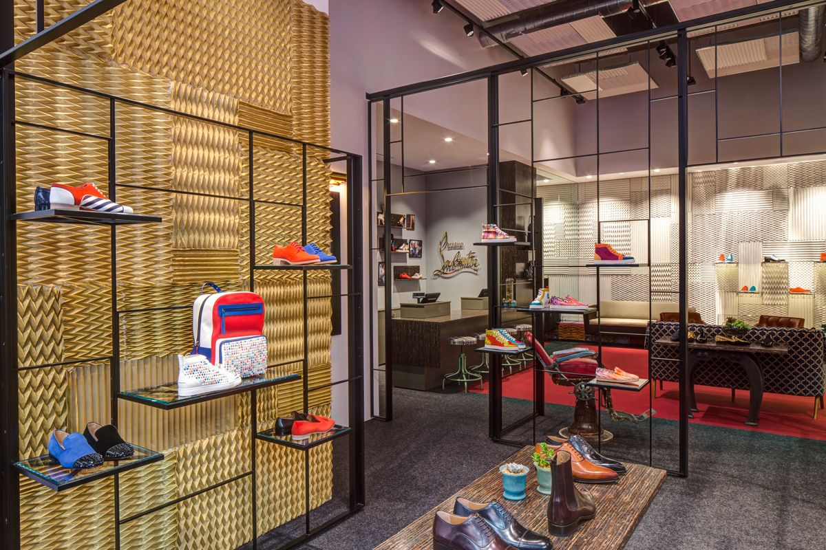 christian louboutin milano showroom