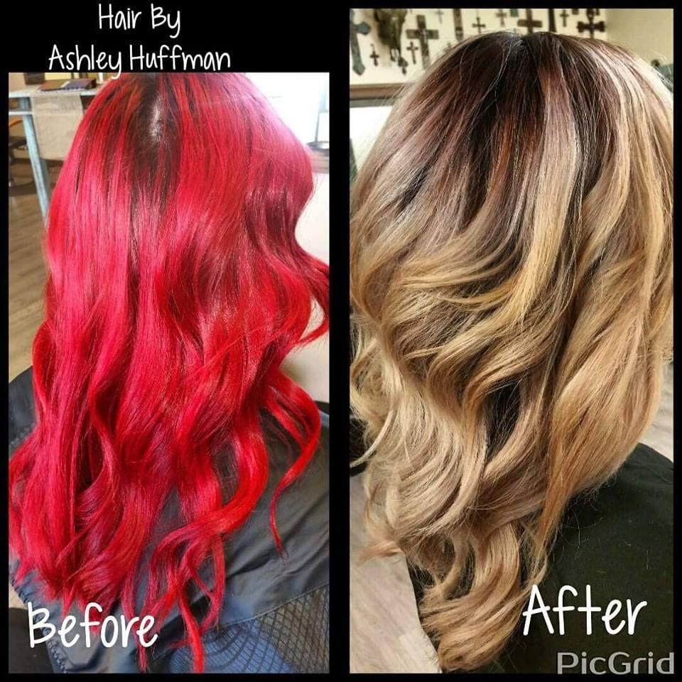 Joico hair color tags color jocio joico - Fiery Red Hair Transformed Into A Beautiful Sombre Cream Soda Blonde Color Correction Joico Hair