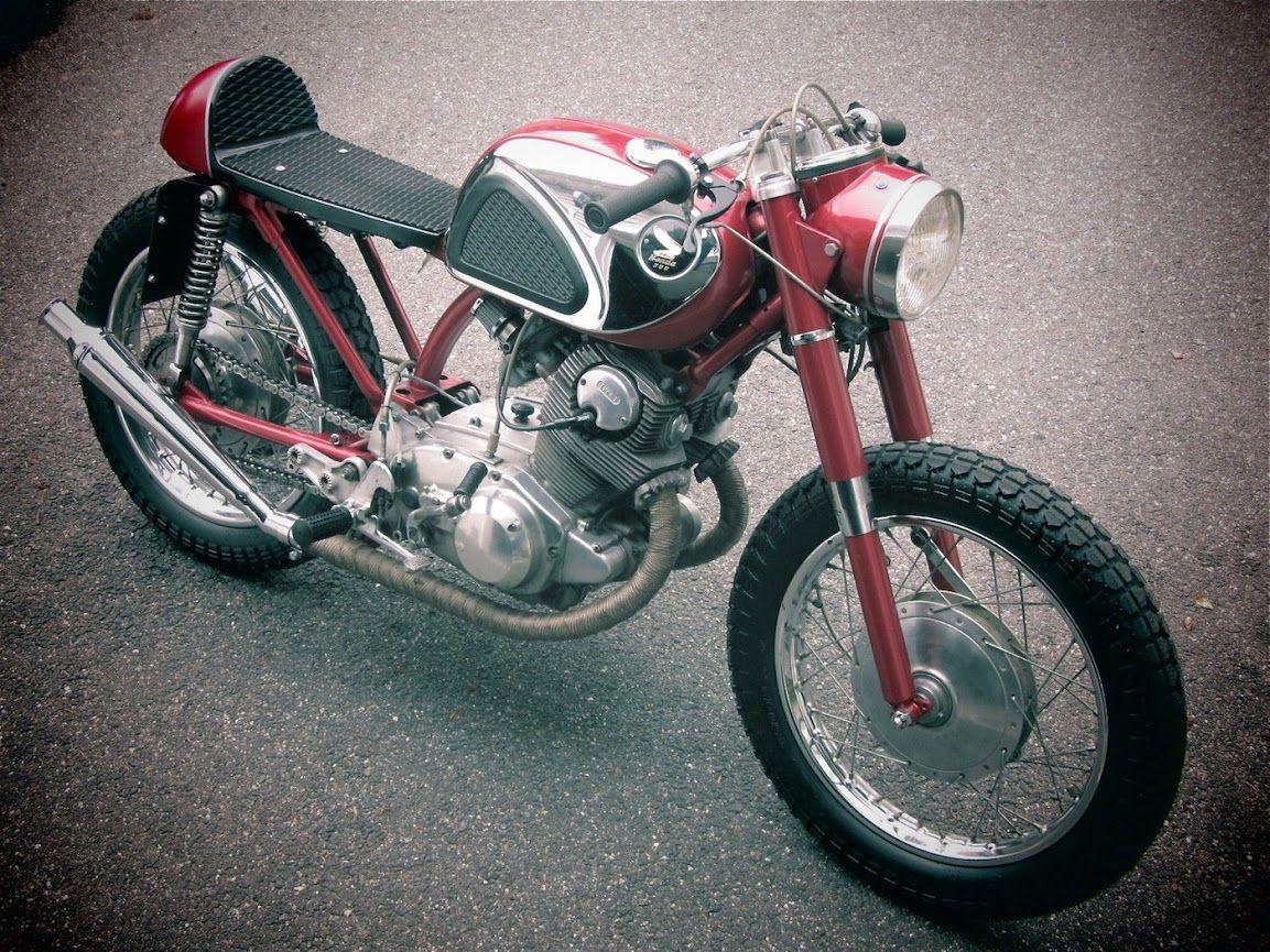 1966 HONDA CB77 SUPER HAWK CAFE RACER - INAZUMA CAFE RACER   bikes ...