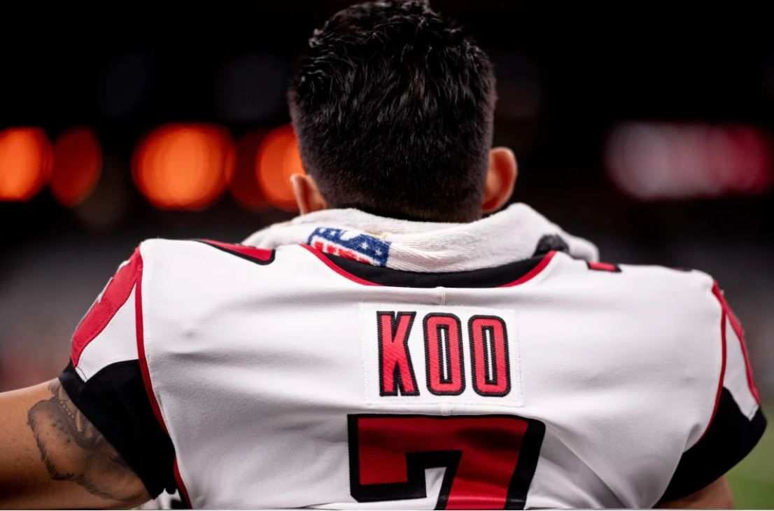 Younghoe Koo S Story Is An Inspirational One As One Of Only Four Nfl Players Born In South Korea Hines Ward May Be A Name Y Nfl News Nfl Players Michael Vick