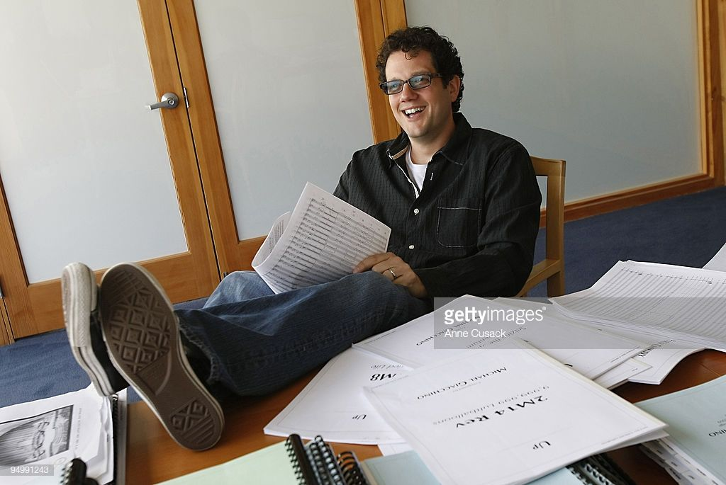 Composer Michael Giacchino Poses For A Portrait In In