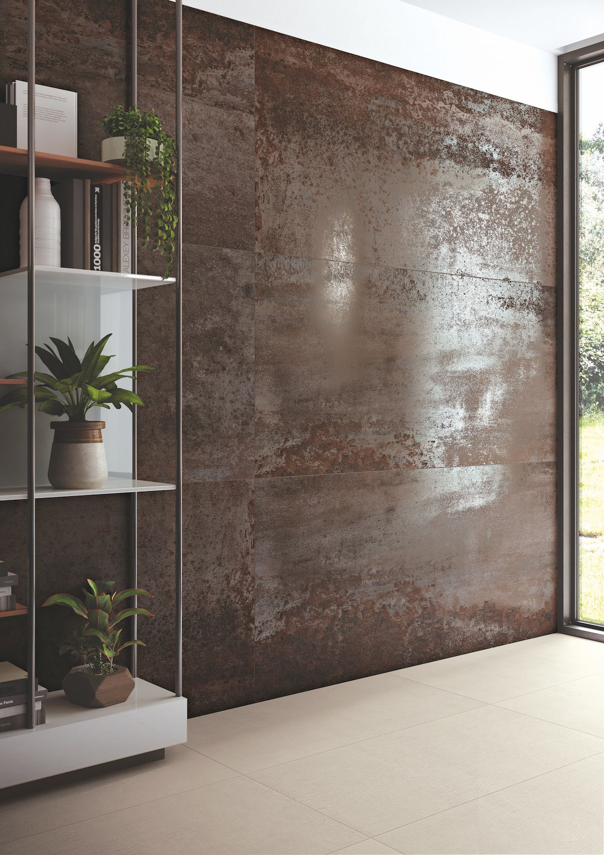 carrelage sol mur costruire metallo